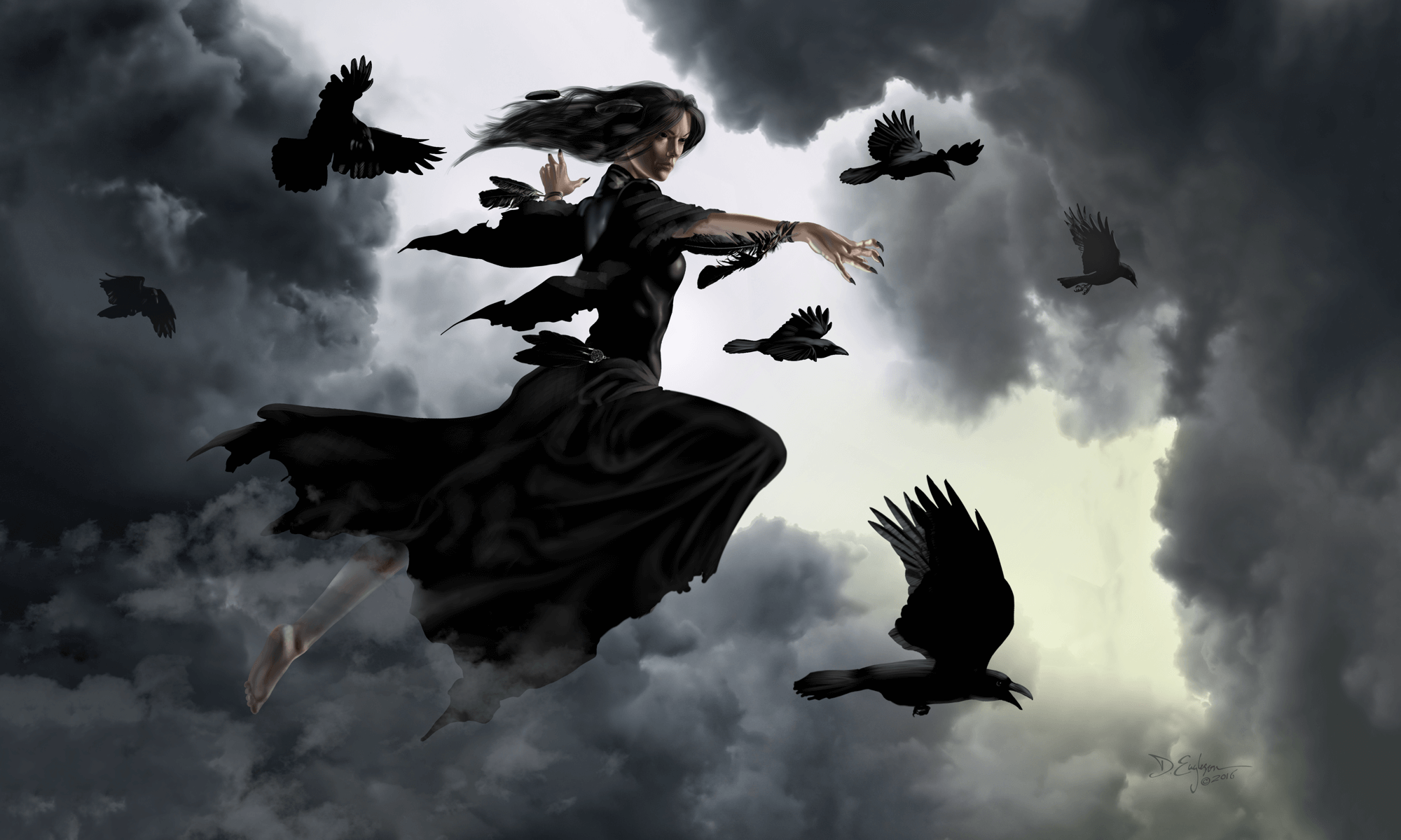 Crow Witch By Duncan Eagleson